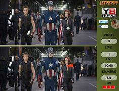 6 diferente cu The Avengers