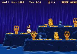 Aladdin - Evadarea din pestera cu minuni