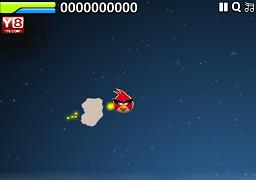 Angry Birds Batalia in Spatiu