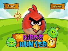 Angry Birds vanatoarea
