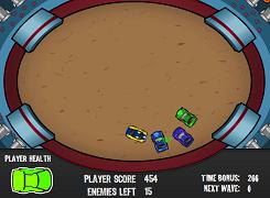 Arena luptelor de masini
