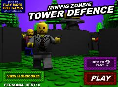 Atacul zombi lego