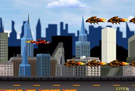 Batalia din oras cu Iron Man