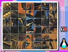 Batman puzzle rotitor