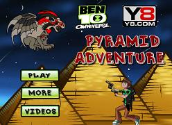 Ben 10 Omniverse aventura din piramida