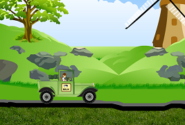 Ben 10 curse cu Jeep