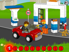 Benzinaria Lego