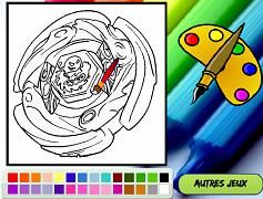 Beyblade Aquario de colorat