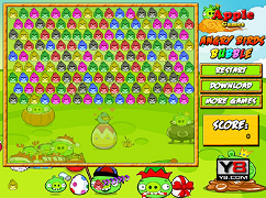 Bubbles Angry Birds