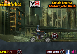 Captain America cu motocicleta