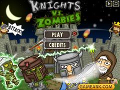 Cavaleri contra zombii