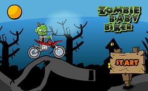 Copilul Zombie cu motocicleta
