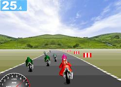 Curse cu motocicleta de viteza