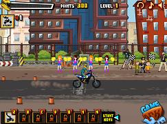 Daredevil pe motocicleta