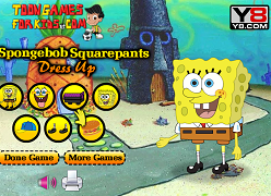 Dress up cu Spongebob