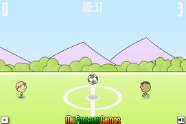 Fotbal unul la unul in Brazilia
