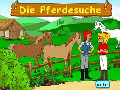 Gaseste calul cu Bibi si Tina