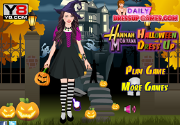 Hannah Montana la petrecerea de Halloween