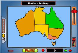 Harta Australiei