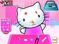 Hello Kitty la doctor