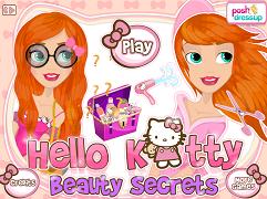 Hello Kitty si secretele frumusetii