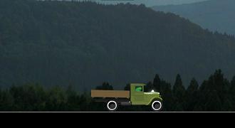 Hulk cu camionul