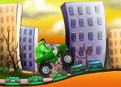 Hulk si camionul distrugator