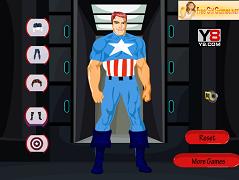 Imbraca-l pe Captain America