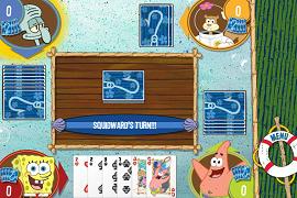 Joaca carti cu Spongebob