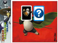 Joc de memorie cu Kung Fu Panda