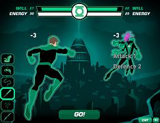 Lanterna Verde campul de lupta