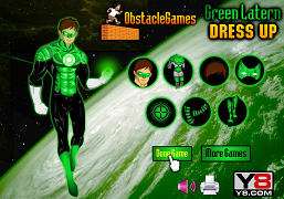 Lanterna Verde de imbracat