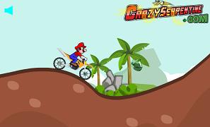 Mario cu Motocicleta pe insula