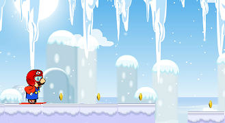 Mario cu schiurile
