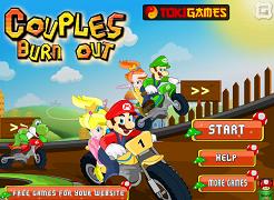 Mario si prietenii cu motocicletele