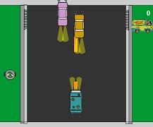Masina misterelor pe autostrada