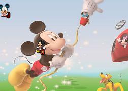 Mickey Mouse de tastat