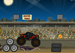Monster Truck in arena