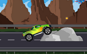 Monster Truck peste obstacole