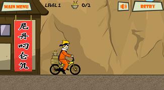 Naruto cu motocicleta