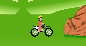 Naruto pe motocicleta