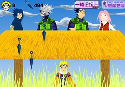 Naruto si antrenamentul kunai