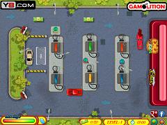 Parcari la benzinarie