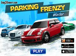 Parcari pe timp de iarna
