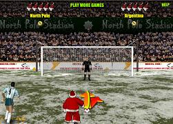 Penalty cu Mos Craciun