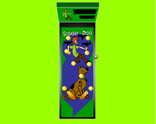Pinball cu Scooby Doo