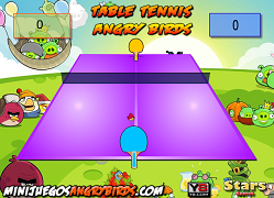 Ping-pong cu Angry Birds