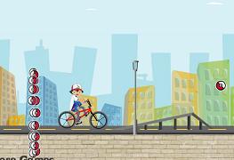 Pokemon pe Bicicleta