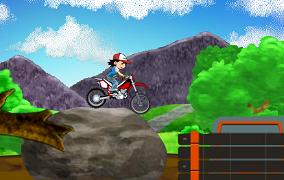 Pokemon pe Motocicleta