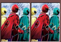 Power Rangers Gaseste Diferentele